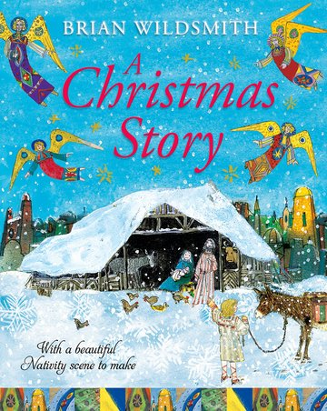 A Christmas Story with Nativity Set