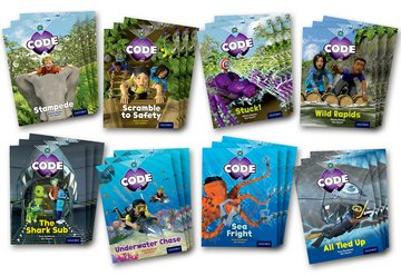 Project X Code: Jungle Trail  Shark Dive Class Pack of 24