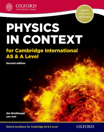 Physics in Context for Cambridge AS & A Level Student Book