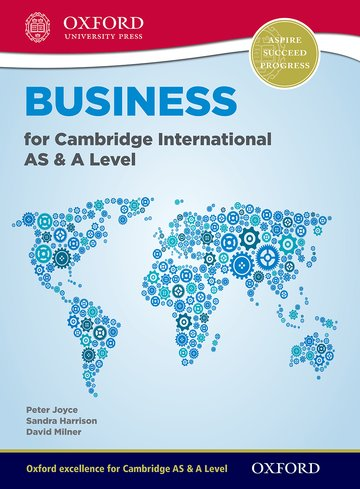 Business for Cambridge AS & A Level Student Book