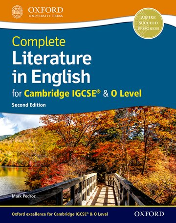 Complete Literature in English for IGCSE Student Book