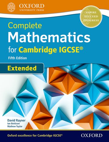 Complete Mathematics (Extended) for IGCSE Student Book