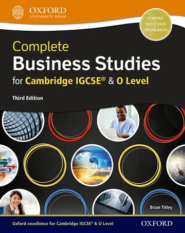 Complete Business for Cambridge IGCSE® and O Level third edition