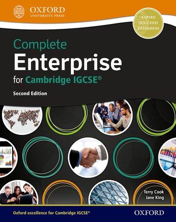 Complete Enterprise for IGCSE & O Level Student Book