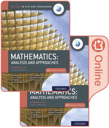Mathematics: analysis and approaches SL Course Book Pack