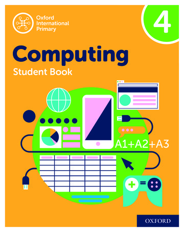 Oxford International Primary Computing Student Book 4