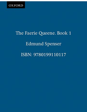 The Faerie Queene. Book 1