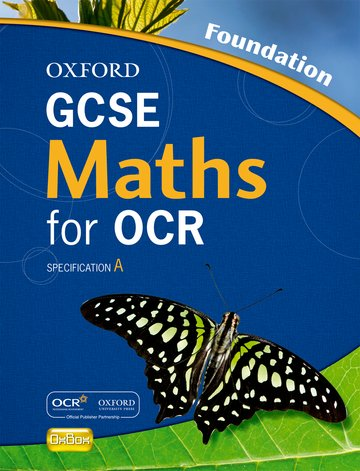 Oxford GCSE Maths for OCR Foundation Student Book
