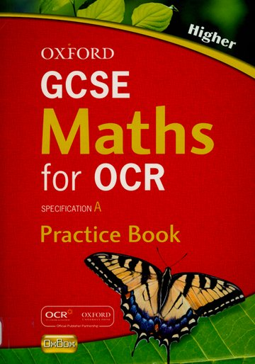 Oxford GCSE Maths for OCR Higher Practice Book