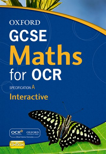 Oxford GCSE Maths for OCR Interactive OxBox CD-ROM