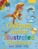 Oxford Junior Illustrated Dictionary cover