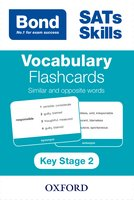 Bond: Vocabulary Flashcards: Synonyms and Antonyms