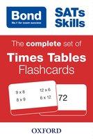 Bond: Maths Flashcards: Times Tables