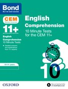 BOND 11+: CEM English Comprehension 10 Minute Tests:
