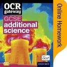 OCR Gateway GCSE Additional Science Online Homework