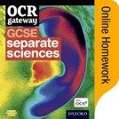 OCR Gateway GCSE Further Additional Science Online Homework
