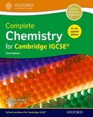 Complete Chemistry for Cambridge IGCSE 3rd ed Student Book