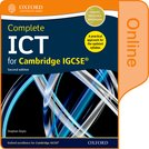 Complete ICT for Cambridge IGCSE Online Student Book (Second edition)