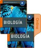 Biología: Libro del Alumno conjunto libro impreso y digital en línea: Programa del Diploma del IB Oxford