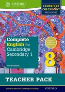 Complete English for Cambridge Secondary 1 Teacher Pack 8