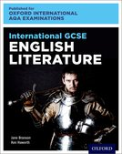 International GCSE English Literature Student Book