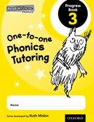 Read Write Inc. Phonics: One-to-one Phonics Tutoring Progress Book 3 Pack of 5