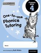 Read Write Inc. Phonics: One-to-one Phonics Tutoring Progress Book 4 Pack of 5