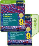 Complete English for Cambridge Secondary 1 Print and Online Student Book 9