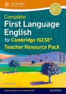 Complete First Language English for Cambridge IGCSE® Teacher Resource Pack