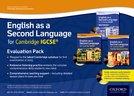 English as a Second Language for Cambridge IGCSE®