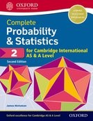 Complete Probability & Statistics 2 for Cambridge International AS & A Level Student Book