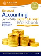 Essential Accounting for Cambridge IGCSE Workbook 2nd ed