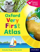 Oxford Very First Atlas Hardback 2011