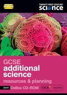Twenty First Century Science: GCSE Additional Science Resources & Planning iPack Oxbox 2/E