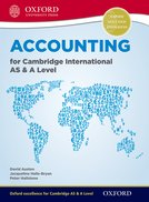 Accounting for Cambridge International AS & A Level Student Book