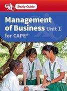 Management of Business CAPE Unit 1 CXC Study Guide