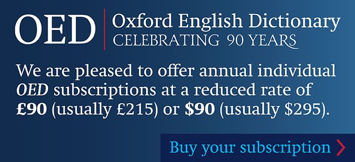 OED subscription offer