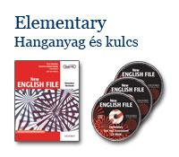 New English File Elementary - Hanganyag és kulcs