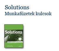 Solutions Munkafüzetek kulcsok