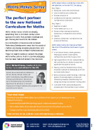 Maths Makes Sense and the new Primary National Curriculum 2014 (PDF)