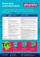 GCSE Geography AQA Command Word Poster (PDF)