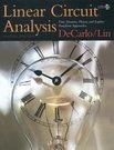 DeCarlo & Lin: Linear Circuit Analysis 2e