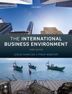 Hamilton & Webster: The International Business Environment 3e