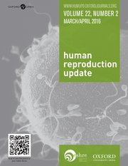 Cover for   Human Reproduction Update