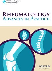 Cover for   Rheumatology Advances in Practice