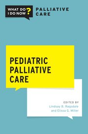 Cover for   Pediatric Palliative Care