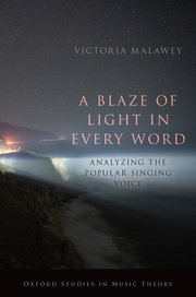 Cover for   A Blaze of Light in Every Word