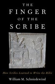Cover for   The Finger of the Scribe