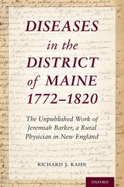 Cover for   Diseases in the District of Maine 1772 - 1820