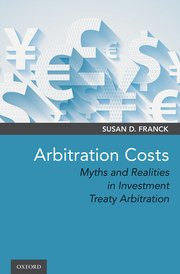 Cover for   Arbitration Costs